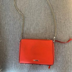 Rebecca Minkoff - RED with studded bottom & chain